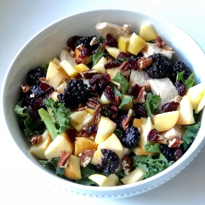 Apple Berry Pecan Salad